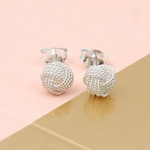 original_sterling-silver-textured-knot-earrings-3