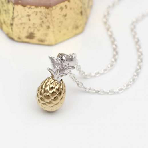 original_18ct-gold-and-sterling-silver-pineapple-necklace
